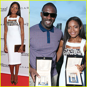 Naomie Harris & Idris Elba: THR Breakthrough in Film Awards!