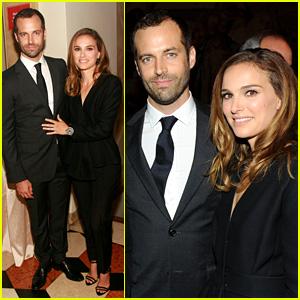 Natalie Portman Celebrates Benjamin Millepied's New Gig!