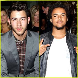 Nick Jonas & Connor Cruise: Evening by Sherri Hill Show!