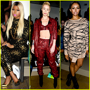 Nicki Minaj & Iggy Azalea: Jeremy Scott Fashion Show!