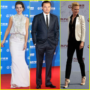 Nicole Kidman & Leonardo DiCaprio: Oriental Movie Metropolis Red Carpet Event