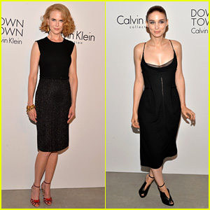 Nicole Kidman & Rooney Mara: Calvin Klein Collection Party!