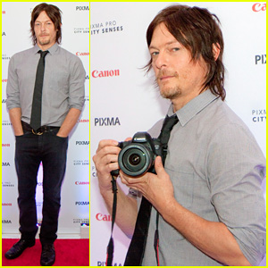 Norman Reedus: Canon PIXMA Pro City Senses Gallery Host