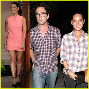 Olivia Munn: Matsuhisa Dinner After 'Leno' Appearance!