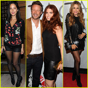 Olivia Munn & Sofia Vergara: TAO Downtown Opening in NYC!