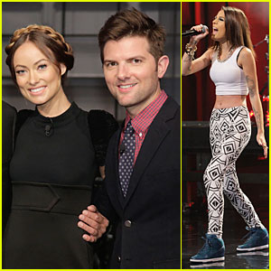 Olivia Wilde & Cher Lloyd: 'Tonight Show with Jay Leno' Guests!