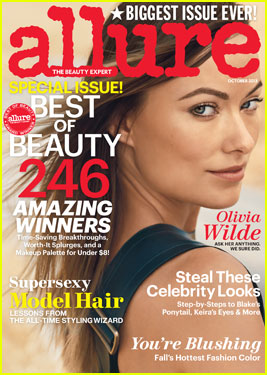 Olivia Wilde Covers 'Allure' Magazine October 2013