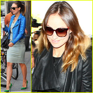 Olivia Wilde Gets Confused with Olivia Munn, Receives 'Newsroom' Compliments