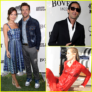 Olivia Wilde & Jason Sudeikis: Artists for Peace TIFF Lunch!