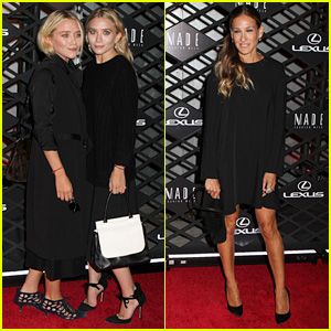 Olsen Twins & Sarah Jessica Parker: Lexus Design Event!