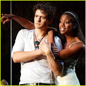 Orlando Bloom & Condola Rashad: 'Romeo & Juliet' Production Pics!