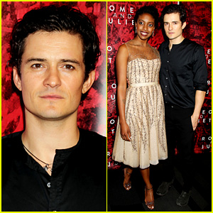 Orlando Bloom: 'Romeo & Juliet' Opening with Condola Rashad!