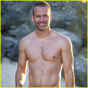 Paul Walker: Shirtless in Official Fragrance Shoot Photo!