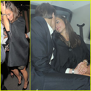 Pippa Middleton & Nico Jackson Kiss After Annabel Party