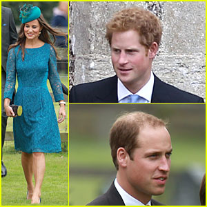 Pippa Middleton: Norfolk Wedding with Prince William & Harry!