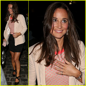 Pippa Middleton Reveals Passion for Boxing!