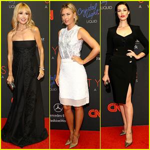 Rachel Zoe, Maria Sharapova, & Jessica Pare - Style Awards 2013
