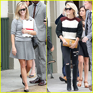 Reese Witherspoon & Julianne Hough: Beverly Hills Party!
