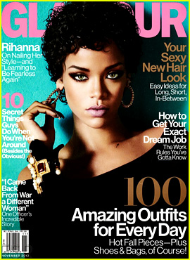 Rihanna Covers 'Glamour' November 2013