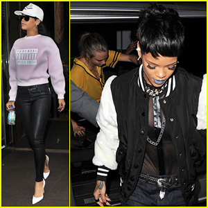 Rihanna: Early Wake Up Call After Night Out with Cara Delevingne