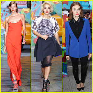 Rita Ora & Karlie Kloss: 'DKNY' Fashion Show Models!