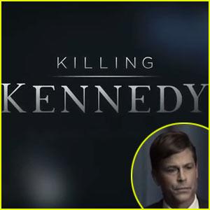 Rob Lowe: 'Killing Kennedy' Trailer - Watch Now!