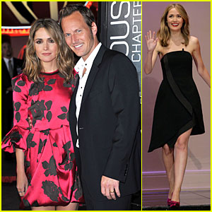 Rose Byrne & Patrick Wilson: 'Insidious: Chapter 2' Premiere!