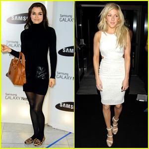 Samantha Barks & Ellie Goulding: Samsung Launch Event!