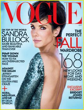 Sandra Bullock Covers 'Vogue', Talks Ex Husband Jesse James
