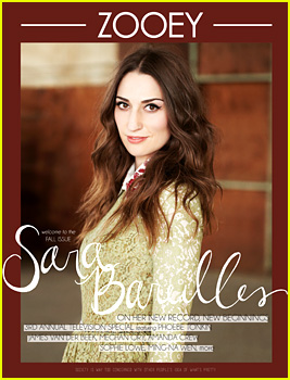 Sara Bareilles Covers 'Zooey' Magazine Fall Issue (Exclusive)