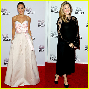 Sarah Jessica Parker & Drew Barrymore: NYC Ballet Gala!