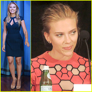 Scarlett Johansson Plays Charades on 'Fallon'!