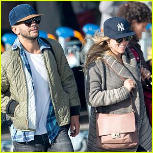 Scarlett Johansson & Romain Dauriac: Engaged Pair in Paris!
