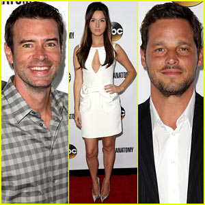 Scott Foley & Camilla Luddington: 'Grey's Anatomy' 200th Episode Party!