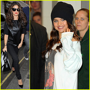 Selena Gomez Makes Radio Stop After Hammersmith Show