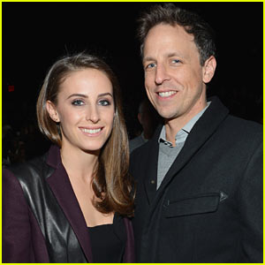 Seth Meyers: Married to Alexi Ashe!