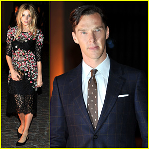 Sienna Miller & Benedict Cumberbatch: Global Fund Event!