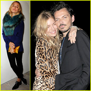Sienna Miller: Matthew Williamson Show Before 'British Vogue' Party!