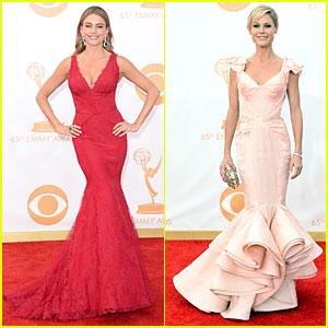 Sofia Vergara & Julie Bowen - Emmys 2013 Red Carpet