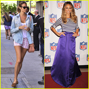 Stacy Keibler: 'Back To Football' Fashion Presentation!