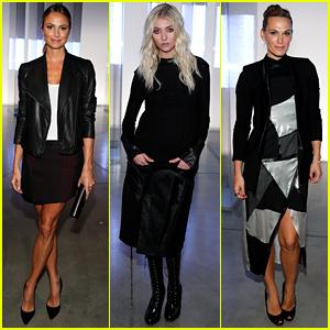 Stacy Keibler & Taylor Momsen: Helmut Lang Fashion Show!