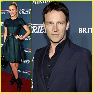 Stephen Moyer & Suki Waterhouse: British Airways 'Variety' Celebration