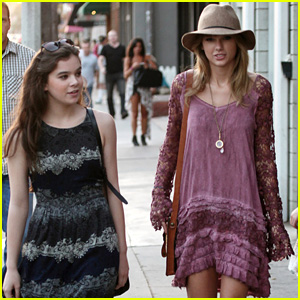 Taylor Swift & Hailee Steinfeld Go Shopping Together!