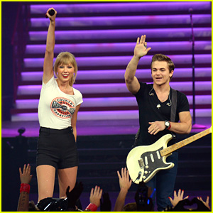 Taylor Swift Performs 'I Want Crazy' with Hunter Hayes! (Video)