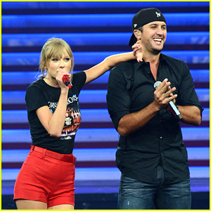 Taylor Swift Performs with Luke Bryan at First Nashville Show!