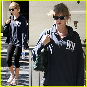 Taylor Swift Steps Out For Workout After 'The Giver' News!