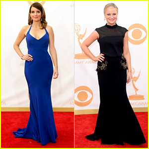 Tina Fey & Amy Poehler - Emmys 2013 Red Carpet