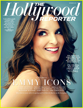 Tina Fey Covers 'The Hollywood Reporter' Emmy Icons Issue
