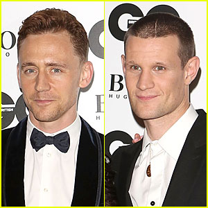 Tom Hiddleston & Matt Smith - GQ Men of the Year Awards 2013