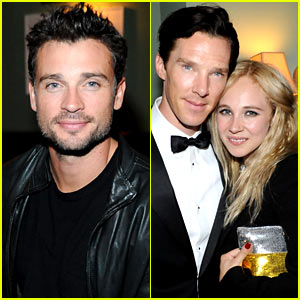 Tom Welling Parties for Michael Sugar at Toronto Film Festival!